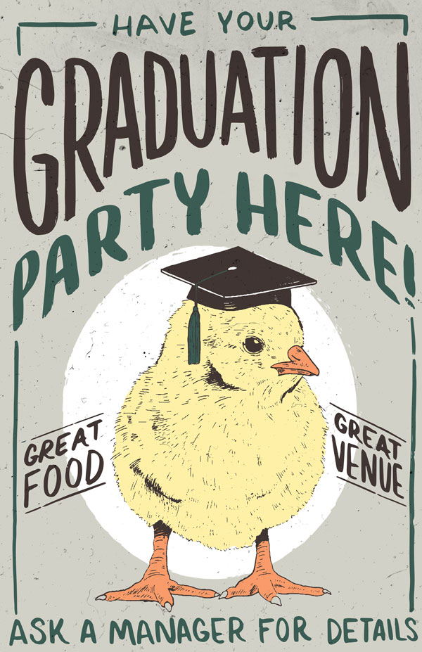 Have Your Graduation Party Here!